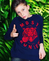 KIDS TIGER SWEATER NAVY-RED_BODY_SHOP
