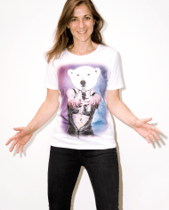 MOST_HUNTED_POLAR_BEAR_T_SHIRT_WOMEN_BODY_SHOP_D