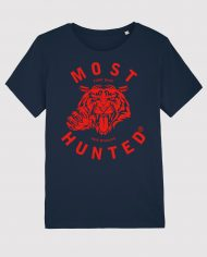 MOST_HUNTED_TIGER_CLAW_NAVY_RED_T_SHIRT_UNISEX_SHOP