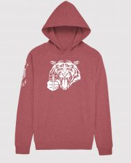MOST_HUNTED_TIGER_HEAD_HOODIE_CRANBERRY_GLOW_WHITE_SHOP