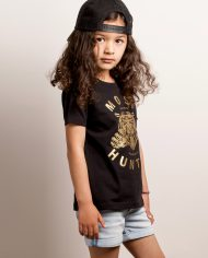 MOST_HUNTED_KIDS_TIGER_CLAW_T_SHIRT_BLACK_GOLD_BODY_SHOP