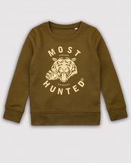 MOST_HUNTED_KIDS_TIGER_CLAW_SWEATER_ARMY_GREEN_GOLD_BODY_SHOP