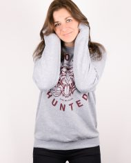 MOST_HUNTED_TIGER_SWEATER_GREY_BORDEAUX_FLOCK_UNISEX_LOOKBOOK_WOMEN