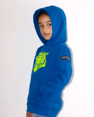 Most_Hunted_kids_tiger_claw_hoodie_blue_fluor_yellow_lookbook_kids_b_shop