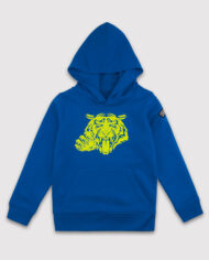Most_Hunted_kids_tiger_claw_hoodie_blue_fluor_yellow_shop