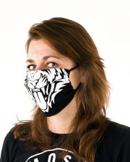 Most_Hunted_tiger_mask_black_white_portret_women_webshop
