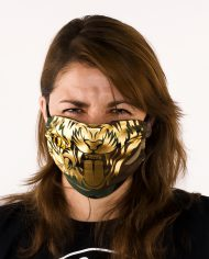 Most_Hunted_tiger_mask_camo_gold_portret_women_webshop