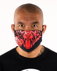 Most_Hunted_tiger_mask_navy_red_portret_men_shop