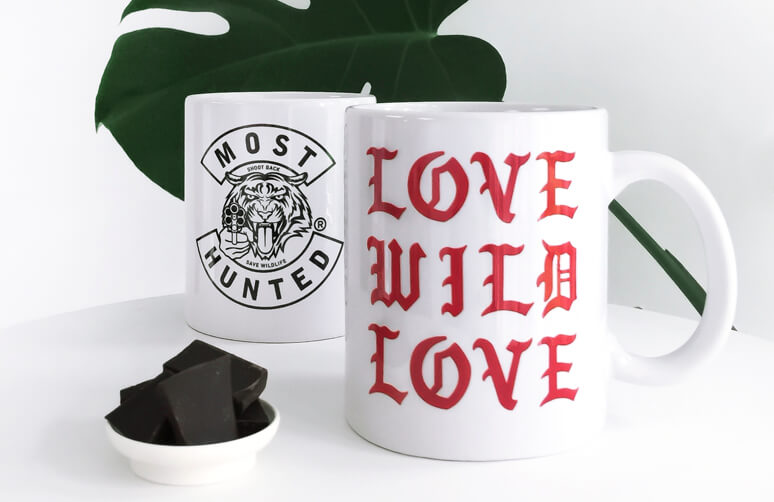 Mug moods & moments. Now made with love for wildlife.